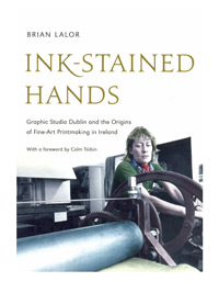 Book cover Ink Stained Hands